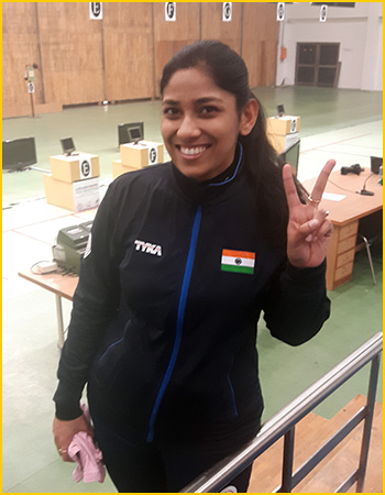 Ayonika Paul wins Olympic quota for India