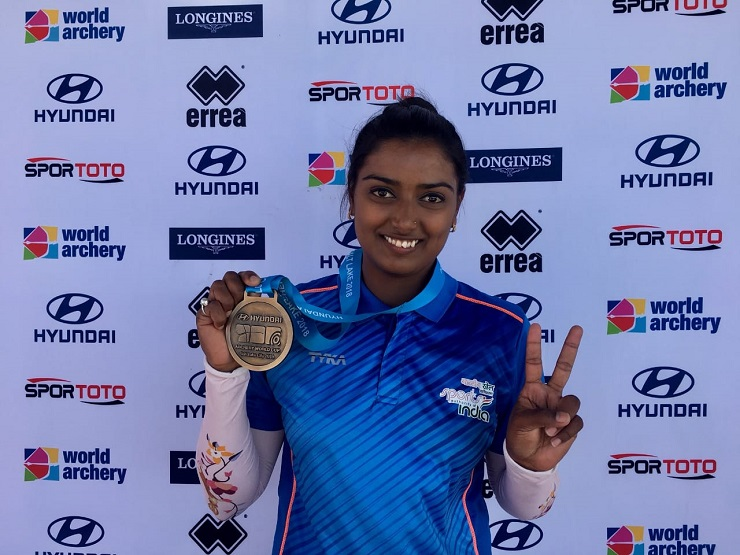 Deepika Kumari wins Gold at Archery World Cup in USA