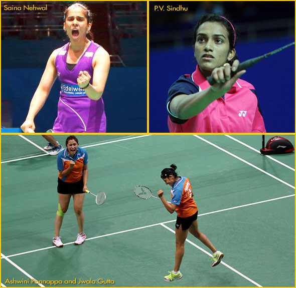 India's biggest ever badminton contingent for Olympics