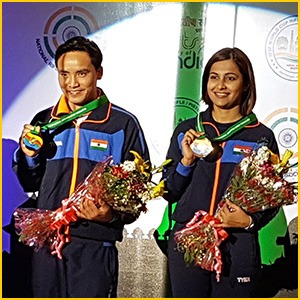 Jitu and Heena win Gold for India