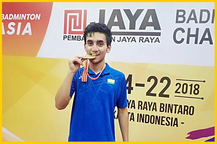 Lakshya and Deepak win Gold medals at Junior Asian Championships