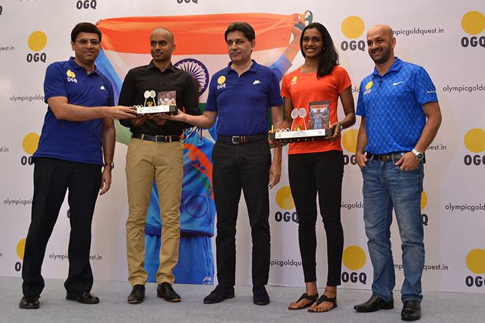 OGQ felicitates Rio 2016 Olympic Silver Medallist P.V. Sindhu