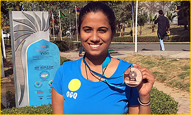 Pooja Ghatkar wins bronze for India