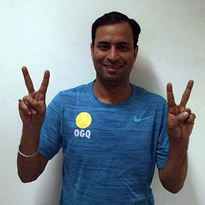 Sanjeev nails Olympic Quota for India