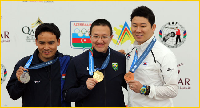 Sensational Jitu Rai wins silver at Baku World Cup