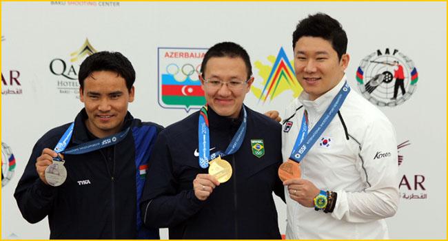 Sensational Jitu Rai wins silver at Baku World Cup
