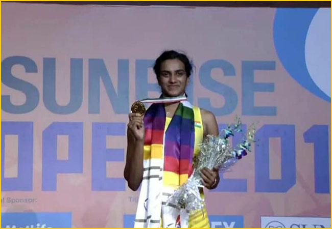 Sindhu wins India Open Super Series 2017