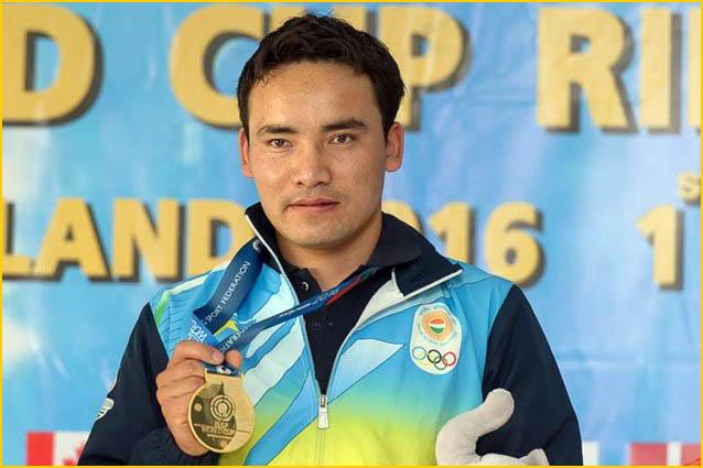 World Cup Gold for Indian pistol shooter Jitu Rai