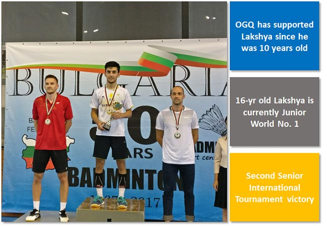World Junior no.1 Lakshya Sen wins Bulgaria Open